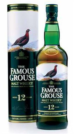 The Famous Grouse Scotch Malt Whisky 12 Year
